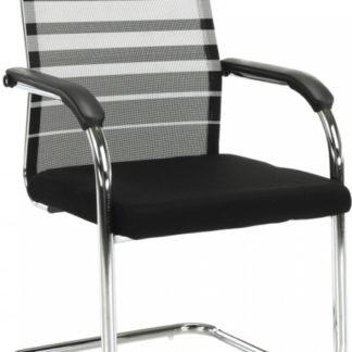 Tempo Kondela Konferenční židle ESIN - šedá / černá + kupón KONDELA10 na okamžitou slevu 3% (kupón uplatníte v košíku)