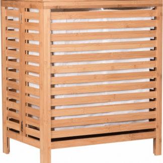 ATAN Koš na prádlo MENORK - přírodní bambus - II.jakost