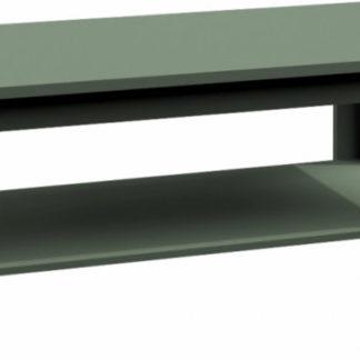 Tempo Kondela Konferenční stolek Provance ST2 - zelená + kupón KONDELA10 na okamžitou slevu 3% (kupón uplatníte v košíku)
