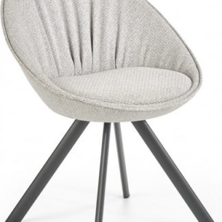 Halmar Jídelní židle K358 - světle šedá