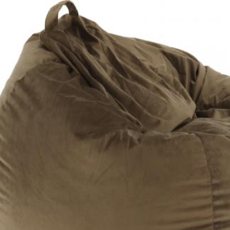 Tempo Kondela Sedací vak TRIKALO - šedohnědá látka Taupe (200 l) + kupón KONDELA10 na okamžitou slevu 3% (kupón uplatníte v košíku)