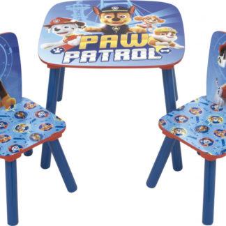 Arditex Dětský stůl s židlemi Tlapková Patrola