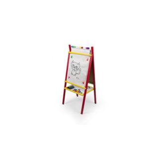 3toysm Dětská magnetická tabule červená