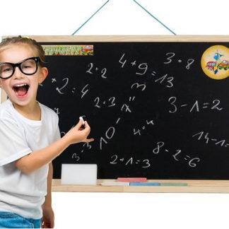 3toysm Dětská tabule na zeď přírodní