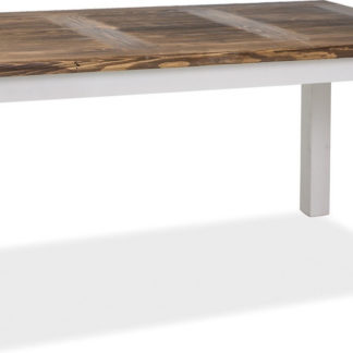 Casarredo Jídelní stůl Poprad 160x90 hnědý vosk/bílá