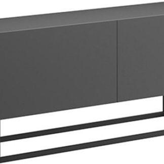 Tempo Kondela Televizní stolek SPRING ERTV120 - grafit + kupón KONDELA10 na okamžitou slevu 3% (kupón uplatníte v košíku)