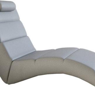 Tempo Kondela Relaxační křeslo LONG - ekokůže  + kupón KONDELA10 na okamžitou slevu 3% (kupón uplatníte v košíku)
