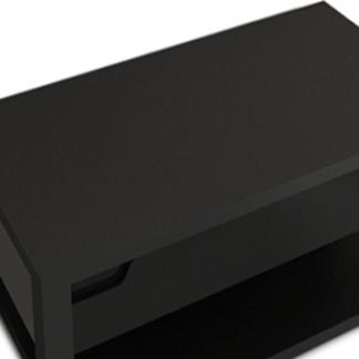 Tempo Kondela Konferenční stolek ADONIS AS 96 - černý vysoký lesk + kupón KONDELA10 na okamžitou slevu 3% (kupón uplatníte v košíku)