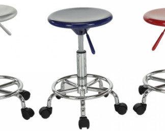 Tempo Kondela Židle MABEL 3 NEW - bílá/chrom + kupón KONDELA10 na okamžitou slevu 3% (kupón uplatníte v košíku)