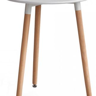 Tempo Kondela Jídelní stůl ELCAN 60 - bílá/buk + kupón KONDELA10 na okamžitou slevu 3% (kupón uplatníte v košíku)