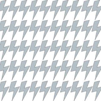 Pastelowelove Samolepky na stěnu blesk - šedá - 45 kusů