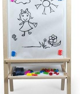 3toysm Dětská magnetická tabule přírodní