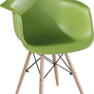 Tempo Kondela Jídelní židle DAMEN NEW - zelená + kupón KONDELA10 na okamžitou slevu 3% (kupón uplatníte v košíku)