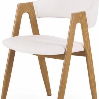 Halmar Jídelní židle K-247 bílá