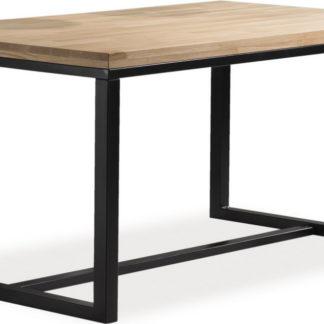 Casarredo Jídelní stůl LORAS A 150x90  dub/černá