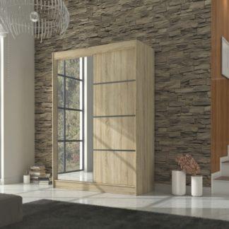 Šatní skříň dekor dub sonoma šířka 150 cm