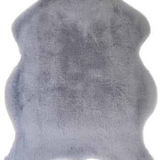 Tempo Kondela Umělá kožešina RABIT NEW TYP 9 60x90 - světle šedá + kupón KONDELA10 na okamžitou slevu 3% (kupón uplatníte v košíku)