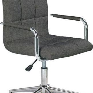 Halmar Dětská židle Gonzo 3 - tmavě šedá