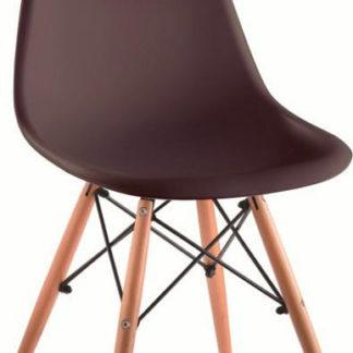 Tempo Kondela Židle CINKLA 3 NEW - tmavě hnědá / buk + kupón KONDELA10 na okamžitou slevu 3% (kupón uplatníte v košíku)