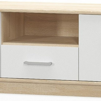 Casarredo Tv stolek 2D1S TIPS dub sonoma/bílá mat
