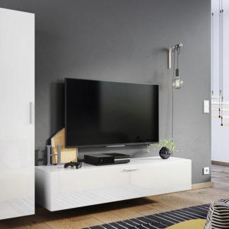 Casarredo Obývací stěna OREGON bílá lesk