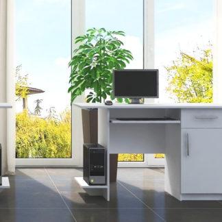Casarredo Pracovní stůl VIBER 1D1S bílá pravý