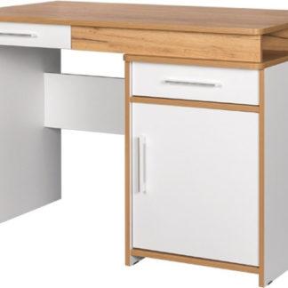 Casarredo Pracovní stůl WOODY bílá/dub kraft zlatý