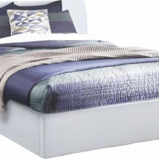 Tempo Kondela Manželská postel KERALA 180x200 - bílá + kupón KONDELA10 na okamžitou slevu 3% (kupón uplatníte v košíku)