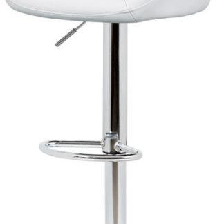 Autronic Barová židle AUB-445 WT - bílá