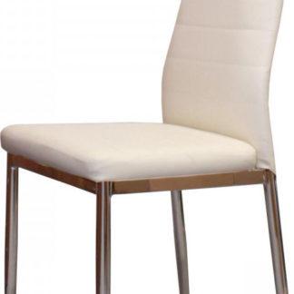 Idea Jídelní židle MILÁNO krémově bílá