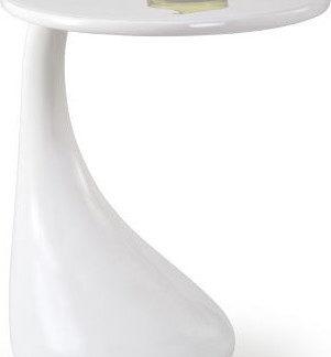 Halmar Odkládací stolek Viva - bílý