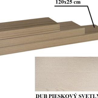 Tempo Kondela Police 120x25 GANA - dub pískový + kupón KONDELA10 na okamžitou slevu 3% (kupón uplatníte v košíku)