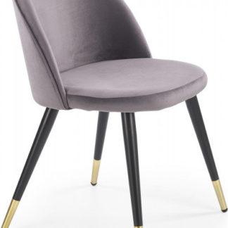 Halmar Jídelní židle K-315 - tmavě šedá
