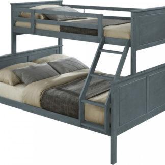 Tempo Kondela Patrová rozložitelná postel NEVIL - šedá + kupón KONDELA10 na okamžitou slevu 3% (kupón uplatníte v košíku)