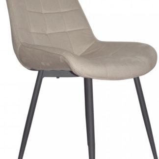 Tempo Kondela Židle SARIN - béžová/černá + kupón KONDELA10 na okamžitou slevu 3% (kupón uplatníte v košíku)