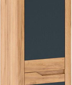 Tempo Kondela Skříň FIDEL V1 levá - dub craft zlatý/grafit šedá + kupón KONDELA10 na okamžitou slevu 3% (kupón uplatníte v košíku)