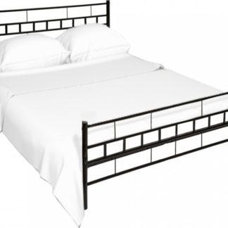 Tempo Kondela Černá postel TAJGI 90x200 + kupón KONDELA10 na okamžitou slevu 3% (kupón uplatníte v košíku)