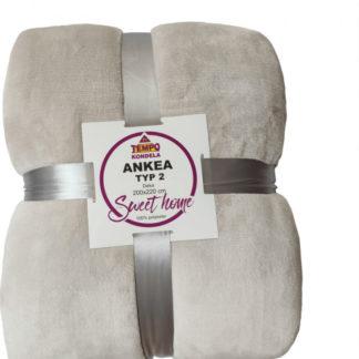 Tempo Kondela Oboustranná deka ANKEA TYP 2 - bílá + kupón KONDELA10 na okamžitou slevu 3% (kupón uplatníte v košíku)
