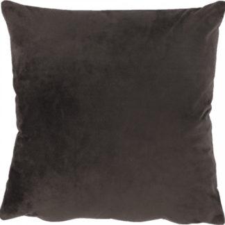Tempo Kondela Polštář ALITA TYP 7 - samet tmavě hnědý + kupón KONDELA10 na okamžitou slevu 3% (kupón uplatníte v košíku)