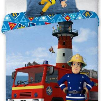 Faro Dětské povlečení Požárník Sam 135x100 cm POFA0404