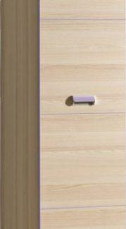 Tempo Kondela Skříň EGO L2 - fialová + kupón KONDELA10 na okamžitou slevu 3% (kupón uplatníte v košíku)
