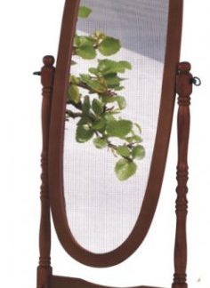 Tempo Kondela Zrcadlo 20124 - ořech + kupón KONDELA10 na okamžitou slevu 3% (kupón uplatníte v košíku)