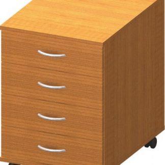 Tempo Kondela Kancelářský kontejner TEMPO ASISTENT NEW 015 - třešeň + kupón KONDELA10 na okamžitou slevu 3% (kupón uplatníte v košíku)