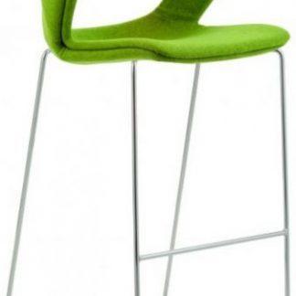Antares Barová židle 2160/SB TC Aoki - čalouněný sedák + opěrák + korpus