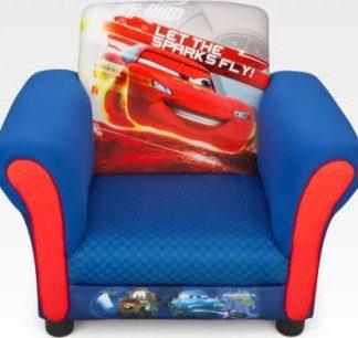 Forclaire Disney dětské čalouněné křesílko Cars