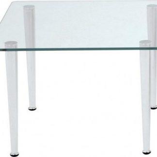Alba Konferenční stolek Quattro - čtverec Sklo kouřové