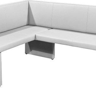 Tempo Kondela Rohová lavice MODERN bílá - LEVÁ + kupón KONDELA10 na okamžitou slevu 3% (kupón uplatníte v košíku)