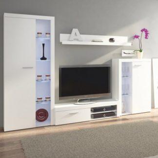 Tempo Kondela Obývací stěna ROCHESTER - bílá + kupón KONDELA10 na okamžitou slevu 3% (kupón uplatníte v košíku)