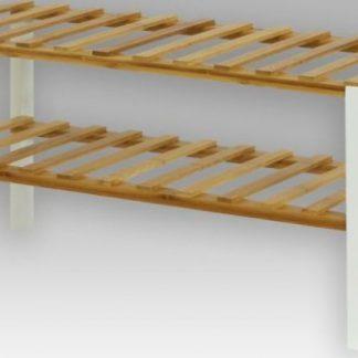 Autronic Bambusový botník DR-028 WH