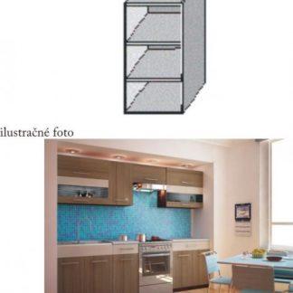 Tempo Kondela Kuchyňská skříňka JURA NEW I GO- + kupón KONDELA10 na okamžitou slevu 3% (kupón uplatníte v košíku)